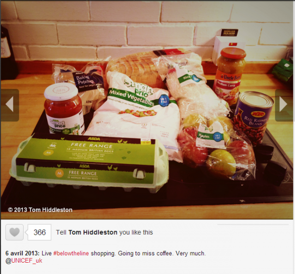 Tom Hiddleston's photo -Live #belowtheline shopping. ...- on WhoSay.png
